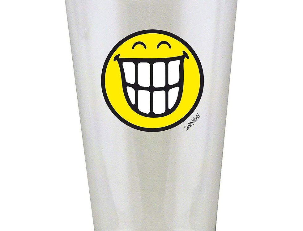 Glass Tumbler 30cl- Emo Teeth