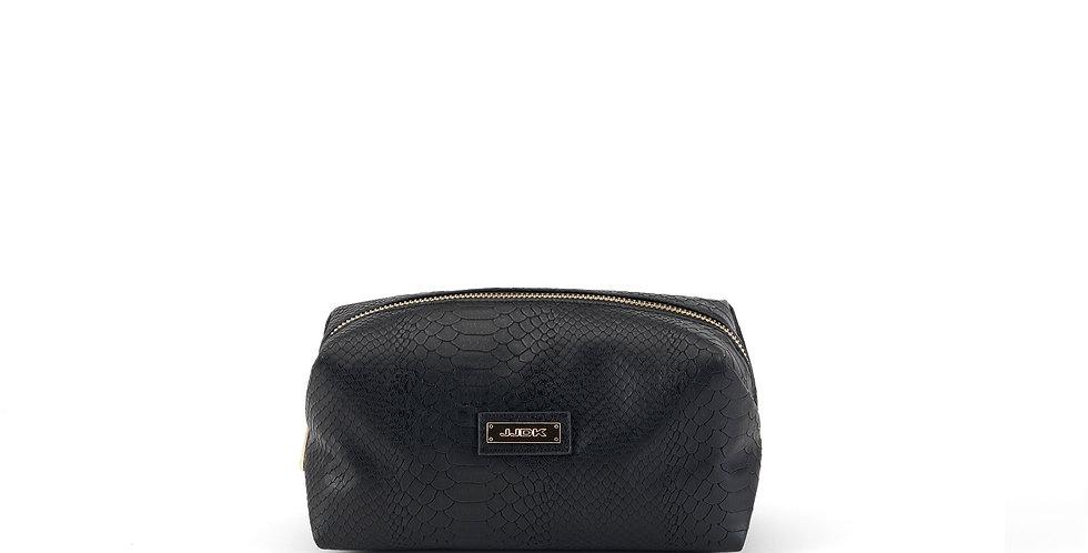 Andorra (L) Cosmetic Bag - Black