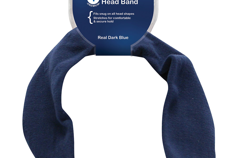 Headband - Real Dark Blue