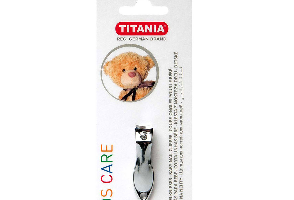 Nail Clipper for Baby - Chrome Plated