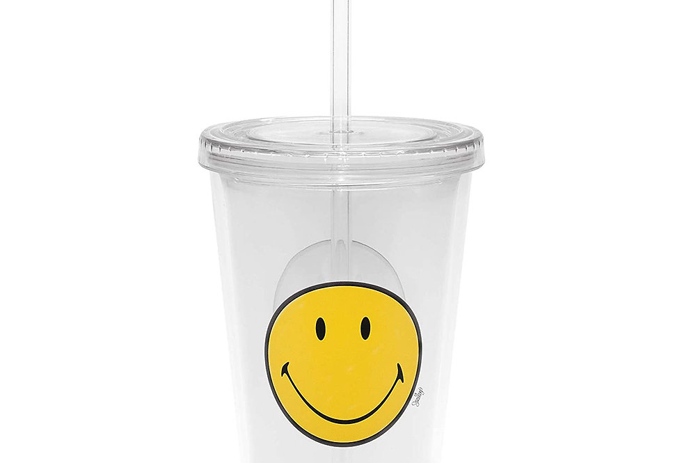 Double Wall Ice Tumbler 49cl- White