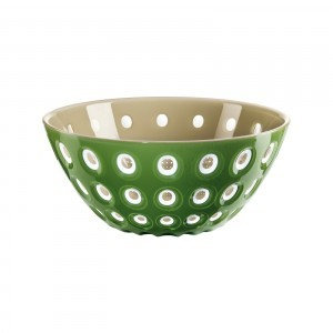 Murrine Bowl 20cm - Sand/White/Green