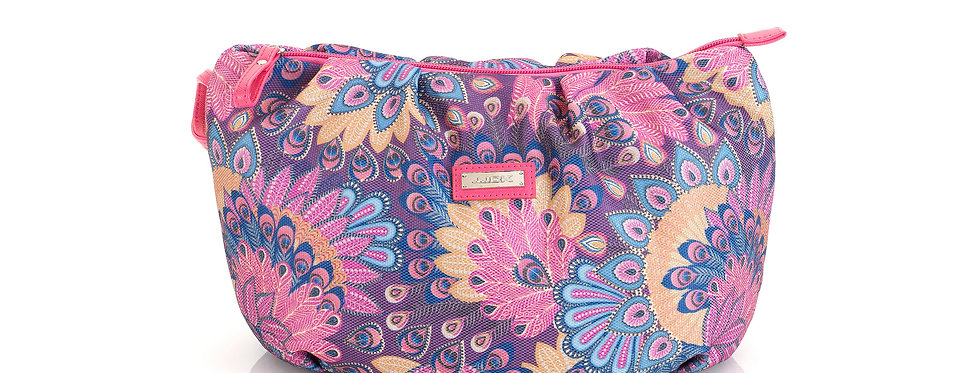 Mayara (S) Cosmetic Bag - Fuchsia