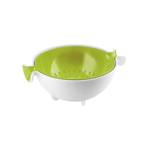 Colander & bowl set - Green