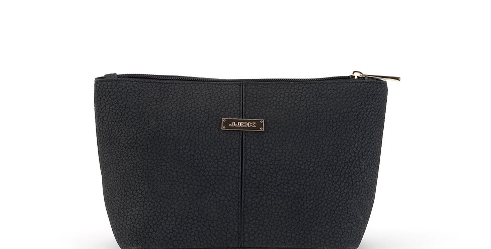 Florita Cosmetic Bag - Black