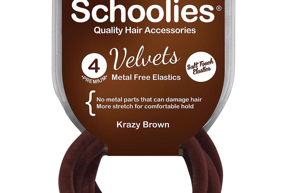 Velvets 4pc - Krazy Brown