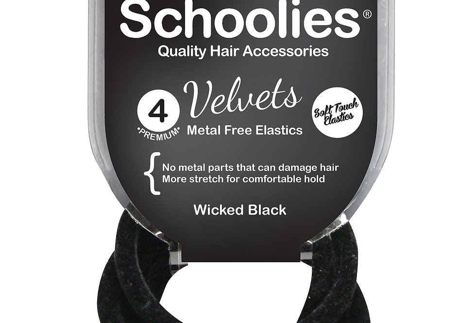 Velvets 4pc - Wicked Black