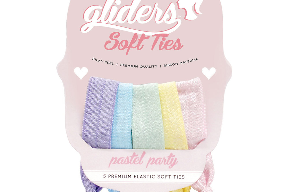 Soft Ties 5pc - Pastel Party