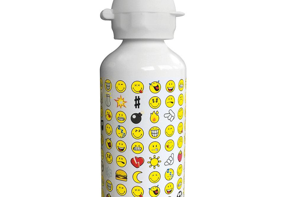 Aluminium Bottle 600ml- Emo White
