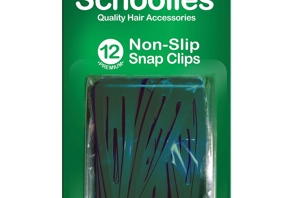 Snap Free Clips 12pc - Groovy Green
