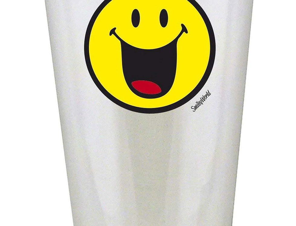Glass Tumbler 30cl- Emo Happy