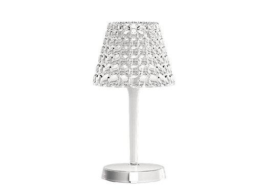 Wireless Table Lamp Tiffany Crystal