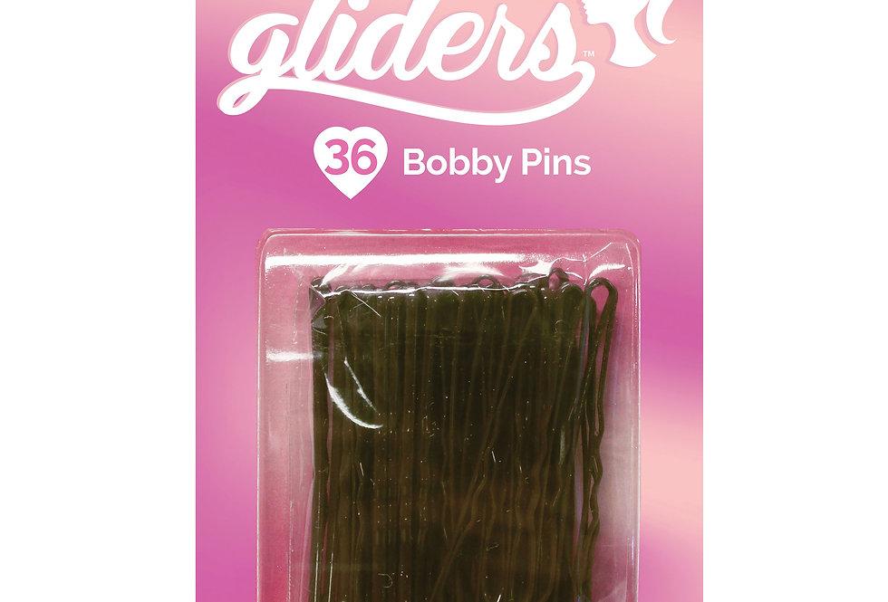 Bobby Pins 36pc - Brown