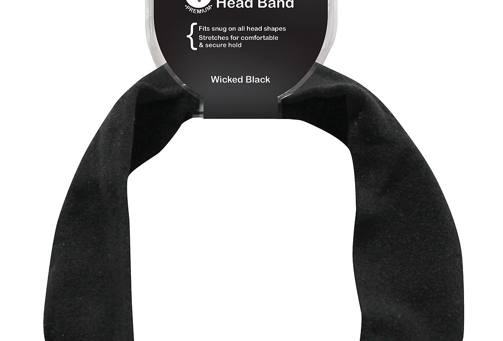 Headband - Wicked Black