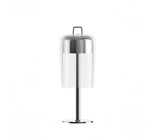 Wireless Table Lamp Soiree Chrome