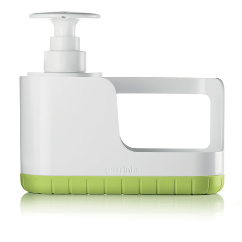 Sink Tidy w/Soap dispenser - Green