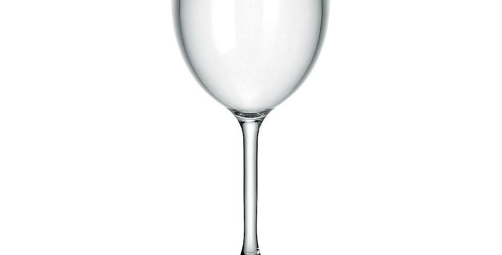 Happy Hour Wine glass 300cc  - Transparent