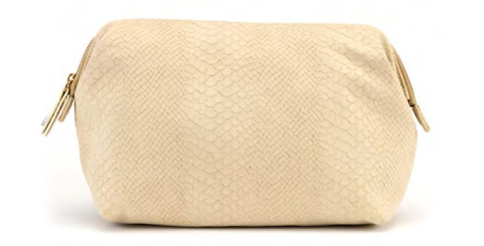 Regina (L) Cosmetic Bag - Beige