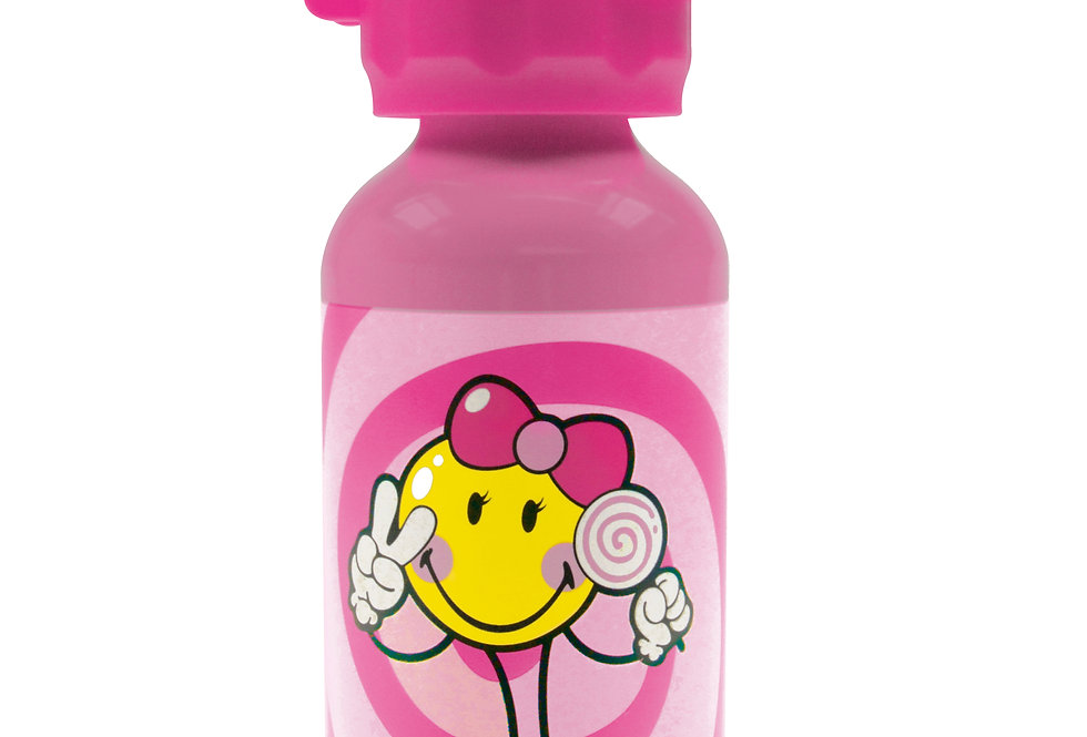 Junior Girl Aluminium Bottle 400ml- Pink