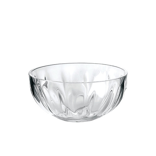 Aqua Salad bowl 24cm - Transparent
