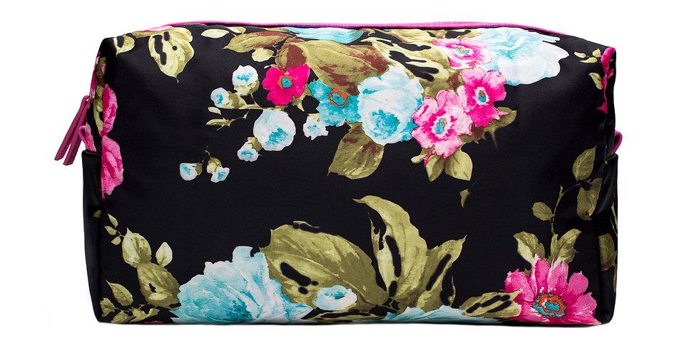 Thyra (L) Cosmetic bag - Floral print