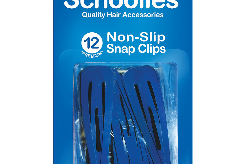 Snap Free Clips 12pc - Kool Blue