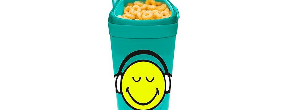 Snack & Drink Tumbler 30cl 9x18cm- Emo Headset