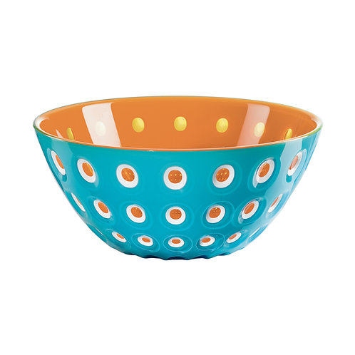 Murrine Bowl 20cm - Blue/White/Orange