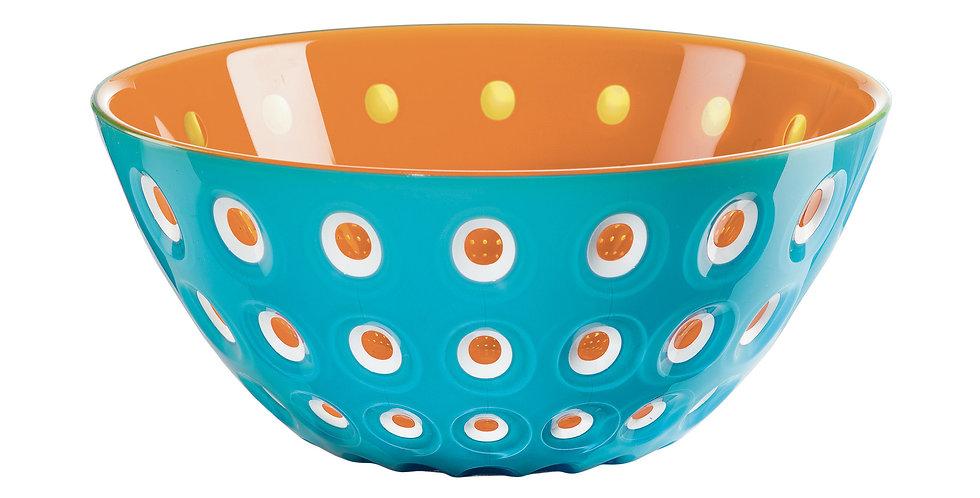 Murrine Bowl 20cm - Blue/White/Orange
