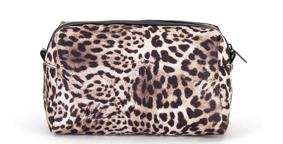 Lola (M) Cosmetic Bag - Leopard