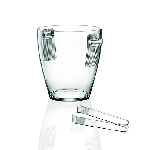 Happy Hour Ice tongs  - Transparent