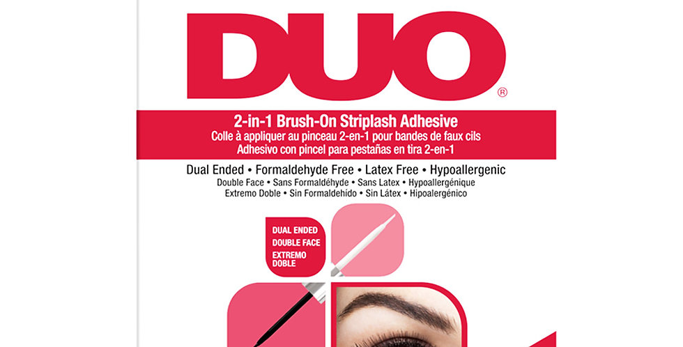 DUO® 2-in-1 Brush-On Adhesive (Clear)