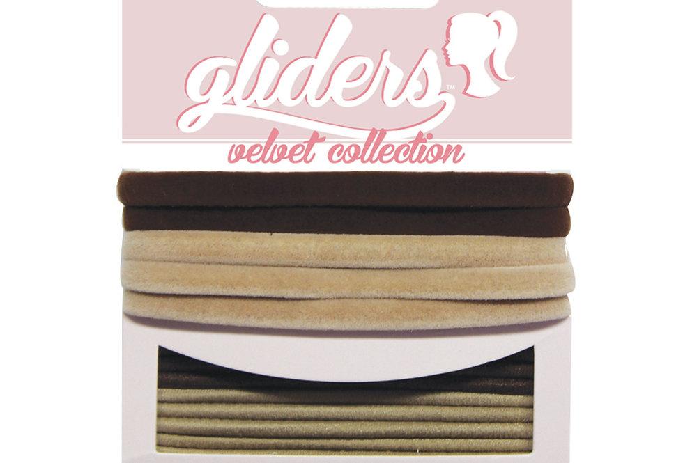 Velvets 6pc - Brown/Blonde