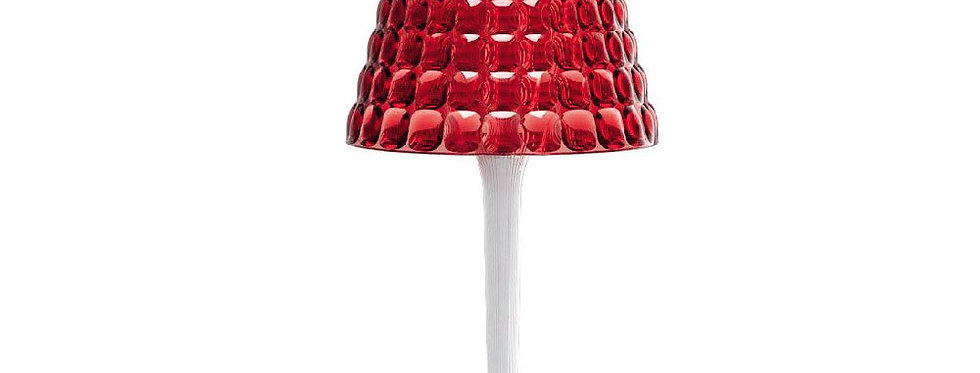 Wireless Table Lamp Tiffany Red