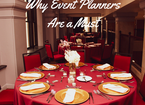 5 Reasons Why Event Planners Are A Must Have