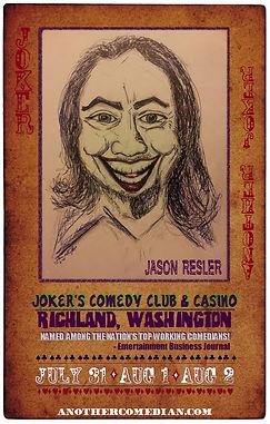 joker comedy poster