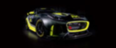 Invictus Games Racing Jaguar GT4 racecar