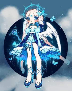 [ Aurami I ] Ice Butterfly