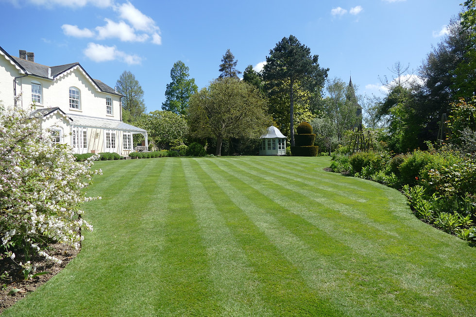 Formal gardens in Chelmsford