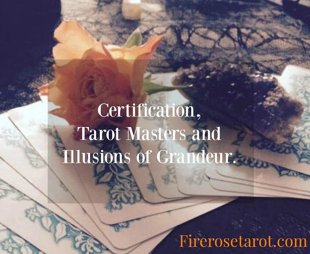 Tarot, Tarot Reading, Tarot Certification