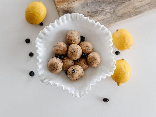 Low carb lemon blueberry