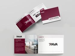 PAVA_brand identity