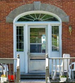 The Andrews House Door