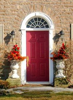 Semi-circle Door