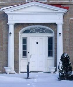 The Aaron Merrick House Door