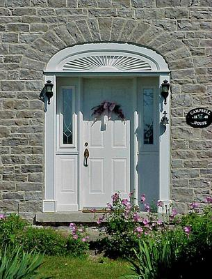 The Campbell House Door