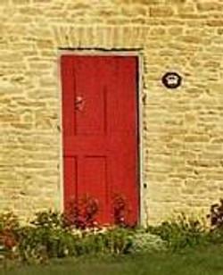 The Merrick Tavern Door