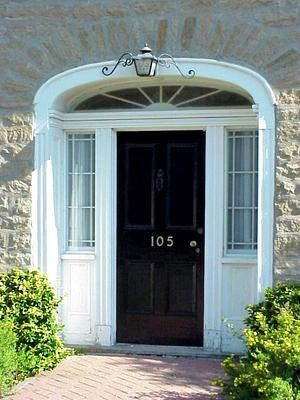The Tyndall House Door