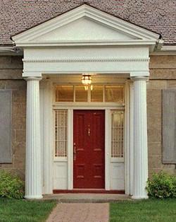 The Stephen Merrick House Door