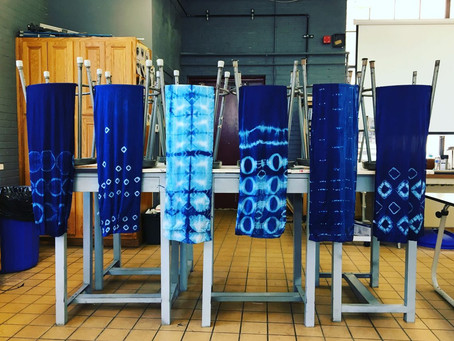 The Basic Process of Shibori Dyeing